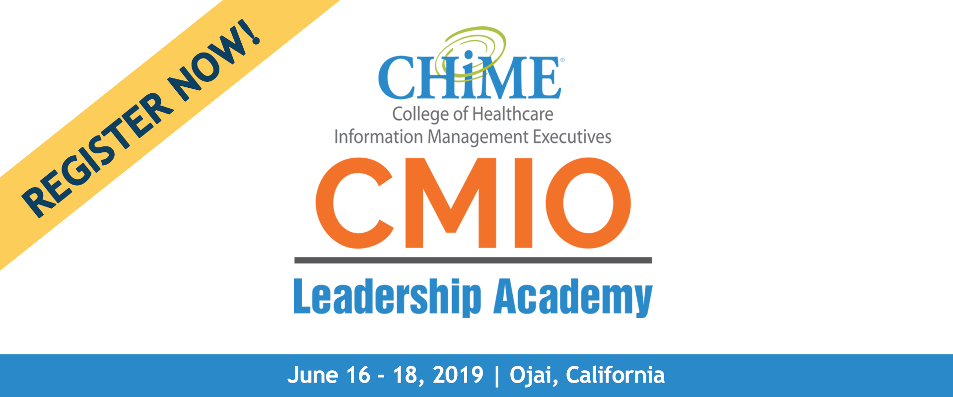 CMIO Leadership Academy - Healthcare IT - CHIME