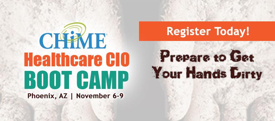 CHIME Healthcare CIO Boot Camp™ - Fall - Healthcare IT - CHIME