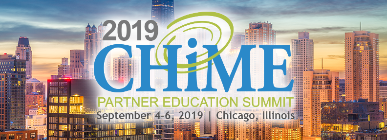 CHIME Partner Education Summit - Healthcare IT - CHIME